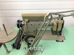 JUKI DDl-5550-6 SINGLE NEEDLE AUTO 220 VOLT SERVO INDUSTRIAL SEWING MACHINE