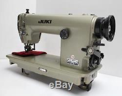 JUKI DLU-490 Variable Top Feed Reverse Industrial Sewing Machine Head Only