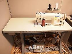 JUKI DU-1181N Single Needle Walking Foot Leather Sewing Machine with Servo
