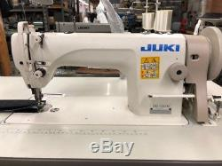 JUKI DU-1181N Single Needle Walking Foot Leather Sewing Machine with Servo & Table
