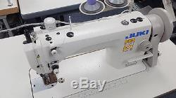 JUKI DU-1181N Top and Bottom Feed Walking Foot Leather Sewing Machine -NEW