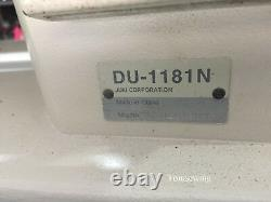 JUKI DU-1181N Walking Foot Sewing Machine Top & Bottom Feed Reconditioned Head