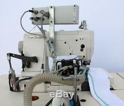 JUKI FS332 5-Thread Coverstitch Binder Computerized Industrial Sewing Machine