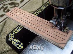 JUKI INDUSTRIAL STRENGTH HEAVY DUTY SEWING MACHINE 18oz Leather 3/8 Lift
