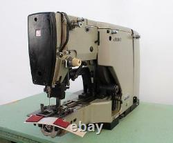 JUKI LK-980 Label Tacker 7/8 x 7/8 42 Stitches Industrial Sewing Machine 220V