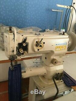 JUKI LS-1341 Cylinder-Bed Unison Feed Sewing Machine Vertical-Axis Hook Head