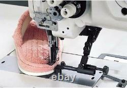 JUKI LU-1508N Single Needle Walking Foot Upholstery Machine Set up Stand & Motor