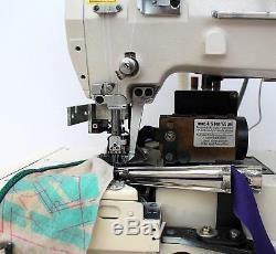 JUKI UNION SPECIAL FS322 5-Thread Coverstitch Binder Industrial Sewing Machine