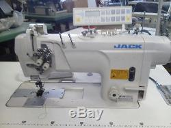 Jack 54820d Double Needle Lock Stitch Industrial Sewing Machine