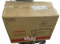 Janome Continental M7 Professional Quilting Machine. 110V /220V Fast shipping