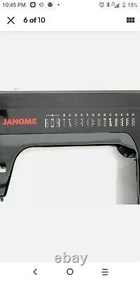 Janome HD1000 Black Edition Industrial Grade Sewing Machine with bonus pack
