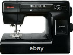 Janome HD3000 Black Special Edition Industrial Grade Sewing Machine Sews Leather
