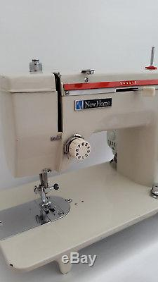 Janome (New Home) Heavy Duty Semi Industrial Sewing Machine + Extras