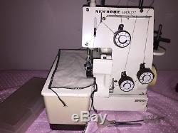 Janome New Home Lock 777 Semi Industrial Overlocker Sewing Machine 603964