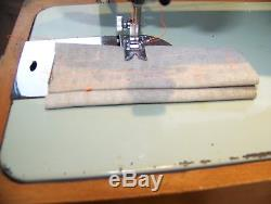 Japanese Brother Heavy Duty Semi Industrial Zigzag Sewing Machine, Case, Serviced
