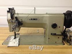 Juki 280l Leather Walking Foot Big Bobbin +rev Industrial Sewing Machine