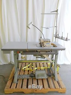 Juki 4-Thread Overlock Sewing Machine withTable & Servo Motor (MO-6716S)
