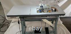 Juki 4-Thread Overlock Sewing Machine withTable & Servo Motor (MO-6814S) COMPLETE