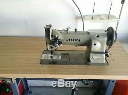 Juki 562 Walking foot industrial sewing machine complete with table and stand