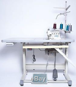 Juki 5-Thread Overlock Sewing Machine withTable & Servo Motor (MO-6716S) COMPELETE