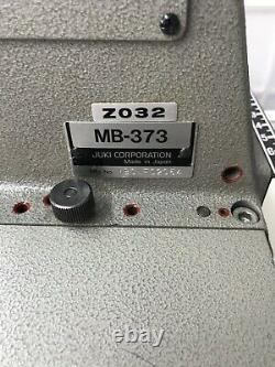 Juki Button Sewer Industrial MB-373 / and372/ also we have in X