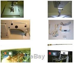 Juki DDL8700 H Lockstitch Heavy Materials with Servo Motor, Stand, Lamp 8700H. DIY
