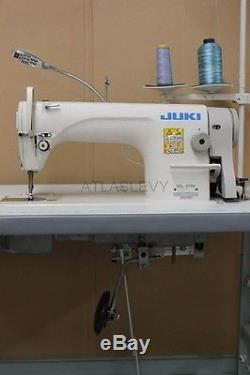 Juki DDL8700 Industrial Single Needle Sewing Machine New Servo Motor and Table
