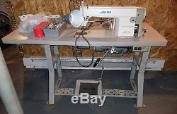 Juki DDL-5550N Sewing Machine with Table & Accessories