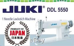 Juki DDL-5550 Industrial Straigh Stitch Sewing Machine Made in Japan-Head only