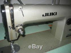 Juki DDL-555, Industrial Sewing Machine, Single Needle