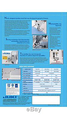 Juki DDL-8700 High Speed, 1-needle, Lockstitch Sewing Machine (Head ONLY)
