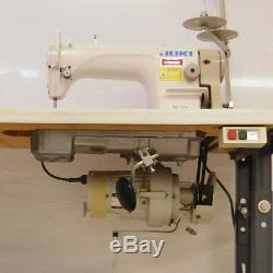 Juki DDL 8700 Single Needle Auto-Lube Sewing Machine with 1/2 HP Motor and Table