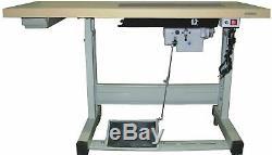 Juki DDL-8700 Single Needle SEWING machine With Servo Motor, & led light DIY