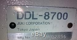 Juki DDL 8700 Single Needle Straight Lockstitch Sewing Machine Rebuilt Head Only