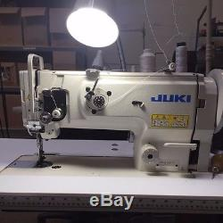 Juki DNU1541 Industrial Sewing Machine, Walking Foot, Heavy Duty