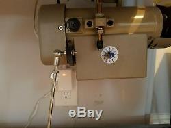 Juki DNU 1541s Industrial Sewing Machine with adjustable speed Servo Motor