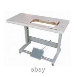 Juki DU-1181N Industrial Top & Bottom Feed Sewing Machine Complete Set