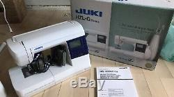 Juki HZL-G220 Home Sewing Machine withBox Feed Industrial Technology. Barely used