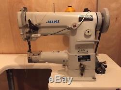 Juki LS 341 Industrial Cylinder Bed Sewing Machine with Servo Motor cowboy