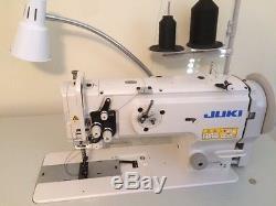 Juki LU-1508N Heavy Duty Walking Foot Industrial Sewing Machine With Table