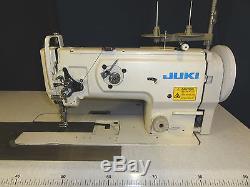 Juki LU 1508 Walking Foot Needle Feed Heavy Duty Industrial Sewing Machine