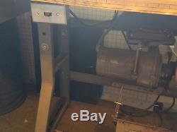 Juki LU-563 Industrial Sewing Machine with Table