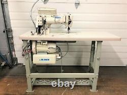 Juki Lh-3528s-7 2needle Auto Full Function 110v Servo Industrial Sewing Machine