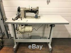 Juki Lu-562 Walking Foot Vert Bobbin +reverse 110v Industrial Sewing Machine