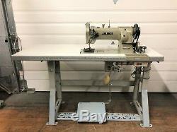 Juki Lu-563 Walking Foot Big Bob +rev New 110v Servo Industrial Sewing Machine