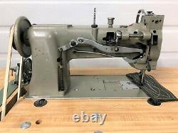 Juki Lu-563 Walking Foot Big Bobbin 110v Servo Industrial Sewing Machine