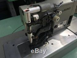 Juki MBH-180 High Speed Single Thread Buttonholing Sewing Machine, button hole