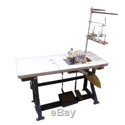 Juki Mo-6716S 2 Needle 3 and 5 Thread Serger Auto-Lube 1/2 HP Sewing Machine 1