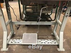 Juki Single Needle Walking Foot DU-1181N Sewing Machine with Servo Motor Complete