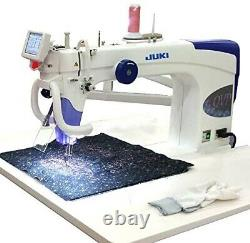 Juki TL-2200QVP-S Sit Down Free Motion Quilting Machine and Table